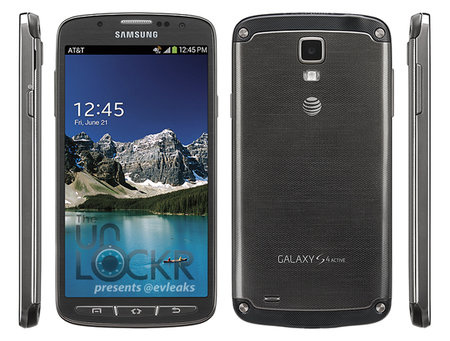 Samsung Galaxy S4 Active press shot leaks, headed to AT&T in US
