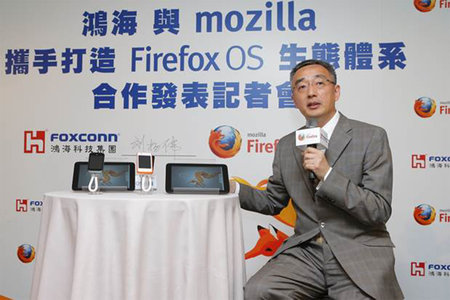 Foxconn teaming up with Mozilla to push smartphone OS