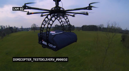 Domino's to deliver pizza by remote control helicopter