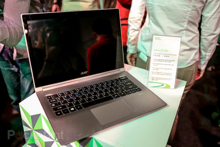 Acer Aspire S3 and Aspire S7 pictures and hands-on