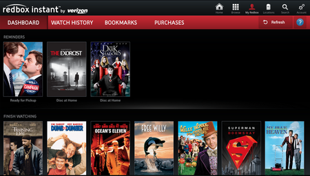 Google TV now offers Verizon's Redbox Instant streaming app