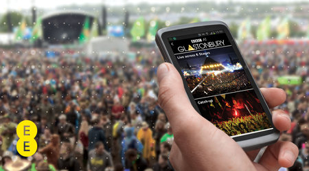 Glastonbury Festival 2013 app for iPhone and Android released by EE, streams BBC coverage and more - photo 2