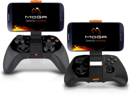 Moga Power Series controllers will charge your Android as you play