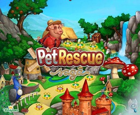 Pet Rescue Saga unveiled by Candy Crush Saga maker: hands-on preview
