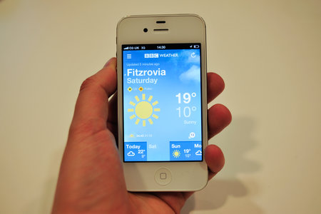App of the day: BBC Weather review (iPhone)