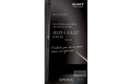 Sony Xperia ZU launch invite hints at phablet design