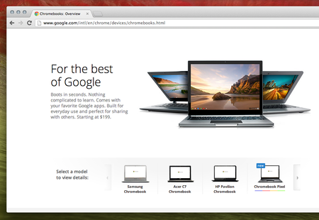 Google triples Chromebook availability to 6,600 stores worldwide
