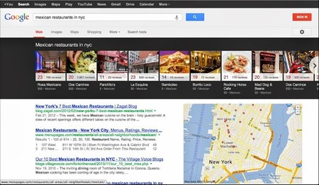 Google adds local search to desktop carousel, 18 new languages to Drive