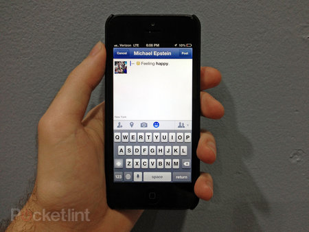 Facebook for iOS update brings status icons, enhanced sharing
