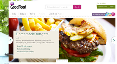 Website of the day: BBC Good Food