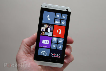 HTC One running Windows Phone 8 planned