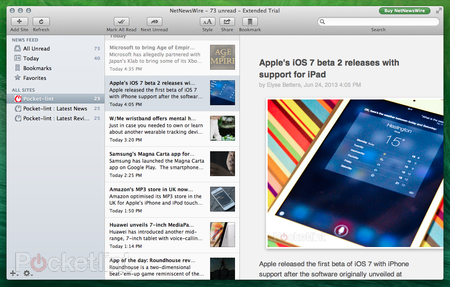RSS reader NetNewsWire 4 for Mac enters open beta