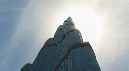 Google Street View explores Burj Khalifa, the world's tallest building