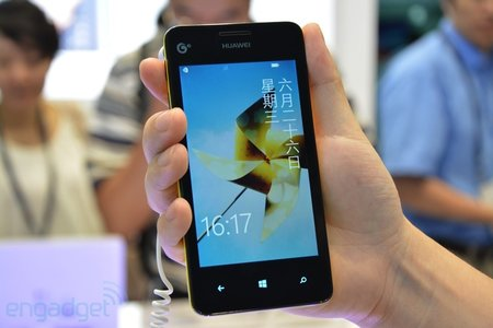 Huawei Ascend W2 appears in hands-on
