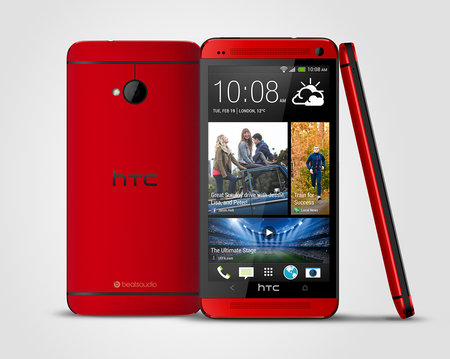 Red HTC One announced, Phones 4u exclusive from mid-July