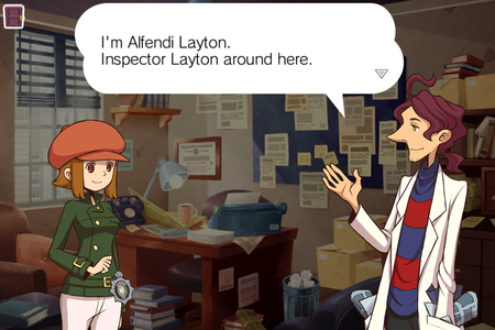 Professor Layton hits iPhone, iPad and iPod touch, in the form of Layton Brothers Mystery Room