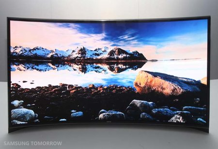 Samsung announces curved OLED TV availability, time to get saving