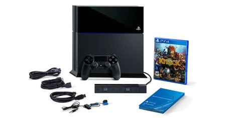 PS4 bundle leak with camera and Knack game surfaces on Sony's US site