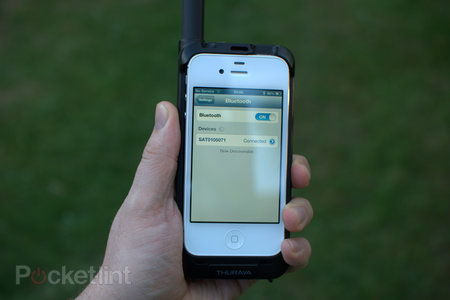 Thuraya SatSleeve satellite phone adaptor for iPhone review - photo 5