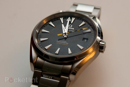 Omega Seamaster Aqua Terra anti-magnetic watch stops time for no-one - photo 1