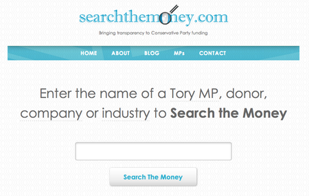 Website of the day: Search the Money