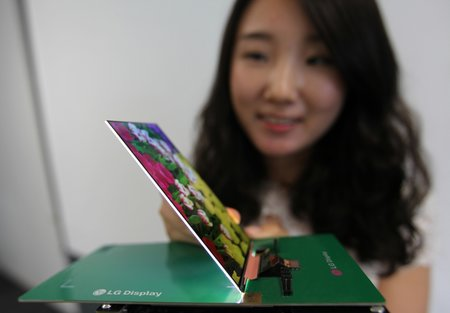 LG Display reveals world's thinnest 1080p LCD panel for smartphones, to be used on Optimus G2?