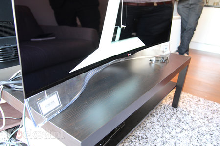 LG 55EA9800 Curved OLED: Stunning in the flesh, beautiful to behold - photo 11