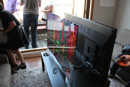 LG 55EA9800 Curved OLED: Stunning in the flesh, beautiful to behold - photo 6