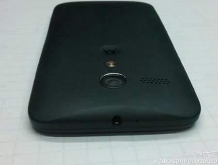 Motorola X appears in another leaked shot, this time a close up of its back