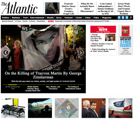 Website of the day: The Atlantic
