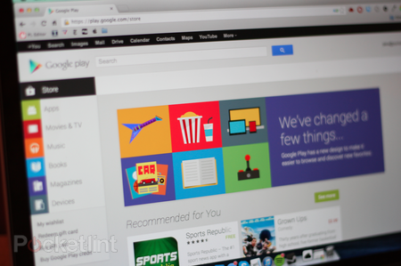 Google rolls out redesigned Google Play Web Store, mimicking the Android version - photo 1