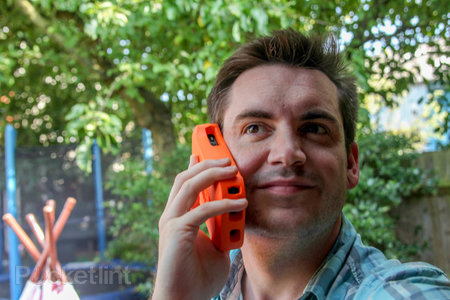 Lifeproof life jacket for iPhone 5 case: Big, orange, and it floats too