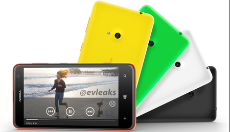Nokia Lumia 625 press shot, spec sheet leaked ahead of Tuesday's Nokia event