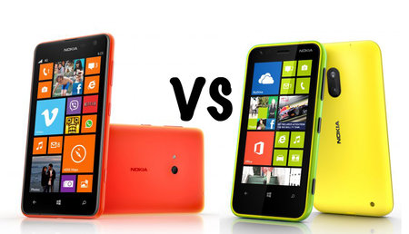 Nokia Lumia 625 vs Lumia 620: What's the difference?