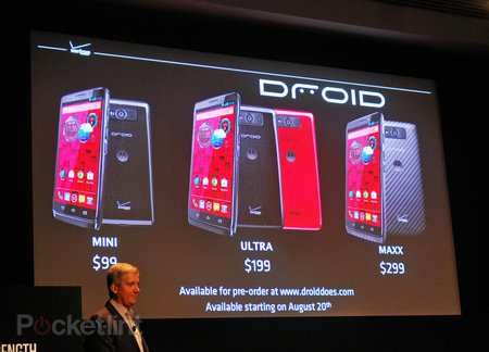 Motorola Droid Ultra, Droid Maxx and Droid Mini all official: These are the droids you're looking for...