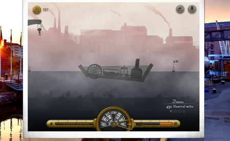 Website of the day: Full Steam Ahead