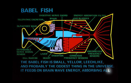 Google working on Babel Fish smartphone, speak one language and the caller hears another