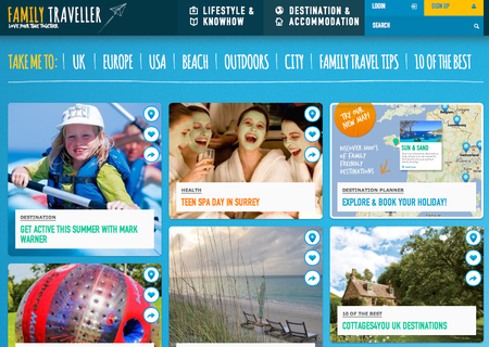 Website of the day: Family Traveller