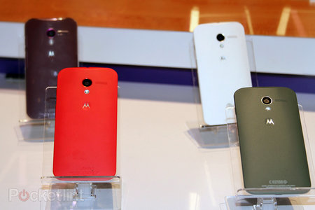 Motorola Moto X pictures and hands-on