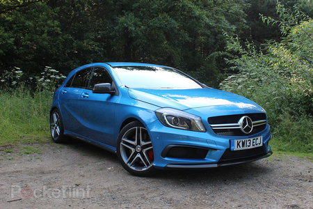 Mercedes-Benz A45 AMG pictures and hands-on