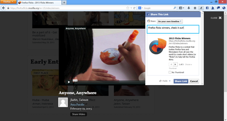 Firefox 23 launches, bringing share button and security features to desktop and updates for Android too
