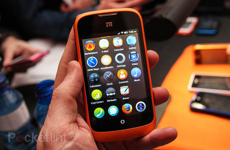 ZTE Open Firefox OS phone to be sold exclusively through eBay, for £59.99