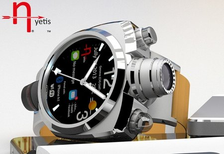 Hyetis Crossbow smartwatch features a 41MP camera with Carl Zeiss optics for $1,200