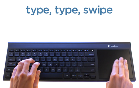 Logitech TK820 to land in the US as well, offers Windows 8 wireless keyboard and trackpad combo