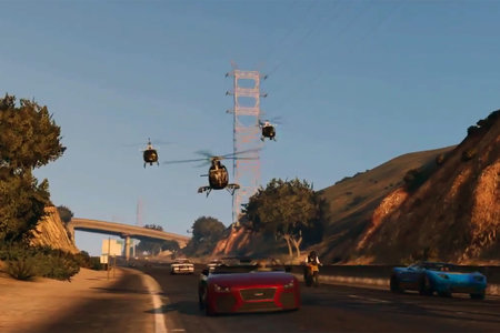 GTA Online gameplay revealed in new Rockstar trailer, 16 players in a constantly evolving world