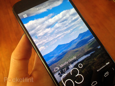 Yahoo's redesigned Weather for Android app lands in Google Play