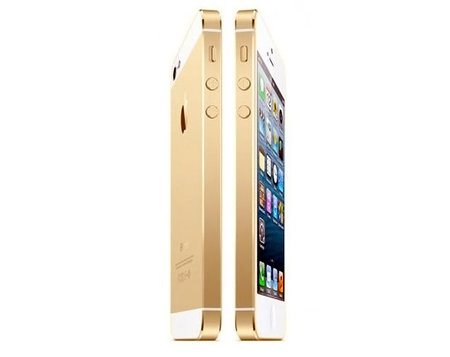 Gold-toned iPhone 5S reportedly set to unveil in September