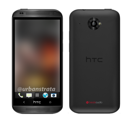 HTC Zara leaks: 4.5-inch mid-range handset, with plastic One design