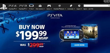 Sony drops PlayStation Vita price to 199 euros, will lower memory cards too