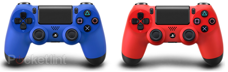 Sony unveils 'Magma Red' and 'Wave Blue' DualShock 4 controllers for PS4